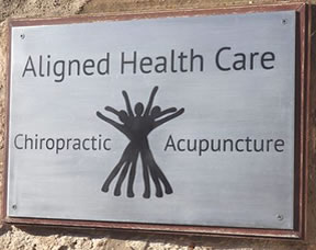 Chiropractor Ayr - Aligned Health Care plaque
